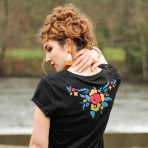Camiseta Mujer Mantón Rosalía