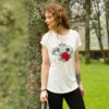 Camiseta estampada algodón orgánico Frida