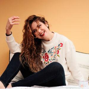 Sudadera Mantón Rosalía