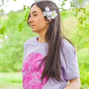 Camiseta Hortensia