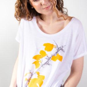 Camiseta Flor de Toxo
