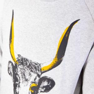 Sudadera Vaca Cachena