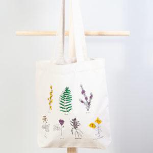 Bolsa tela Herbas San Xoán