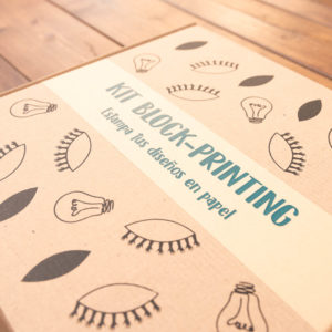 KIT BLOCK PRINTING en papel